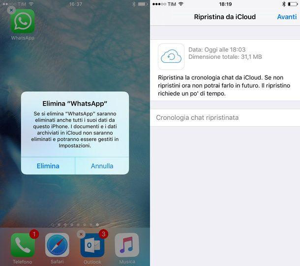 Come recuperare messaggi WhatsApp iPhone