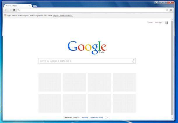 Come ripristinare Chrome