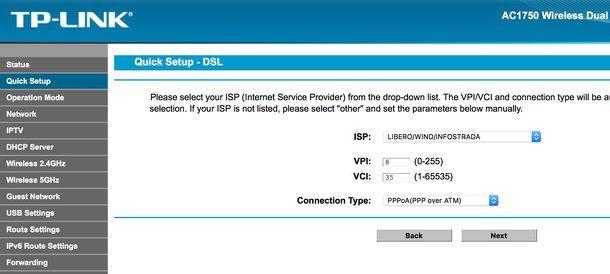 Come configurare router TP-Link