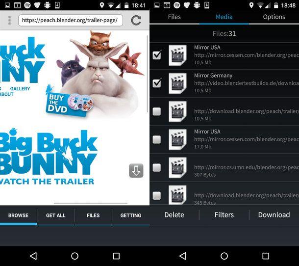 Come scaricare video con Android | Salvatore Aranzulla