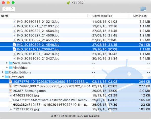 Come trasferire file da Android a PC