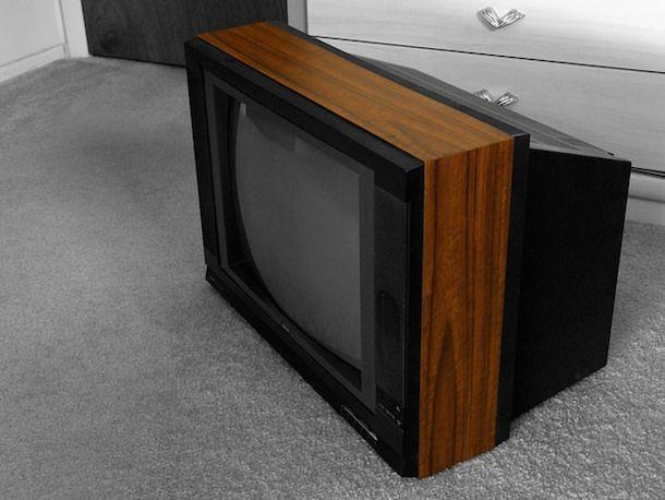 Foto TV a tubo catodico