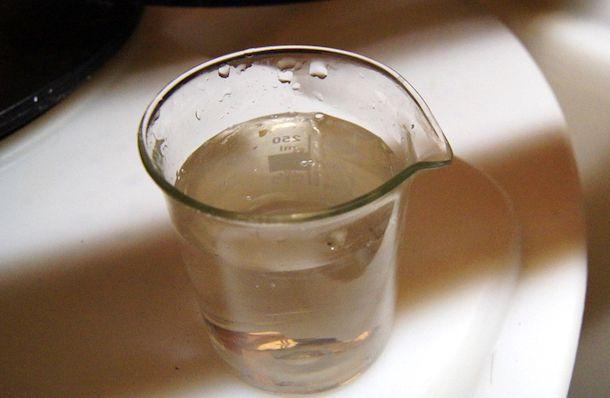 Foto di acqua distillata