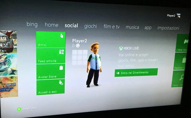 Come connettersi a Xbox Live