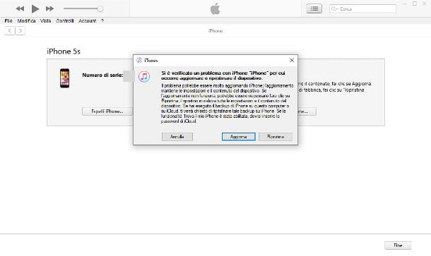 Come sbloccare iPhone disabilitato con iTunes