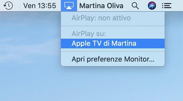 AirPlay macOS