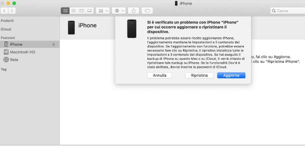 Come sbloccare iPhone disabilitato senza iTunes
