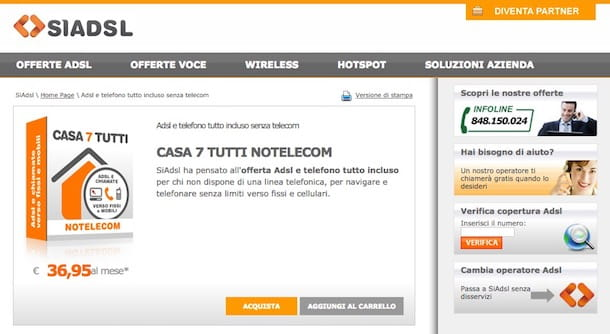 Offerte Internet illimitato