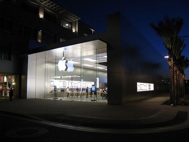 Foto di un Apple Store