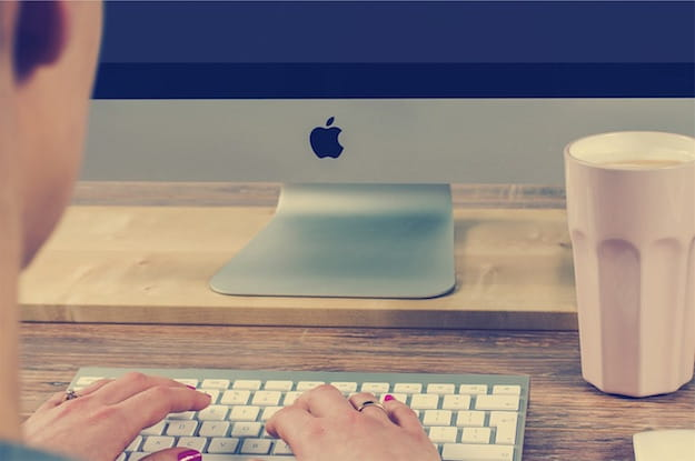 Foto di un iMac