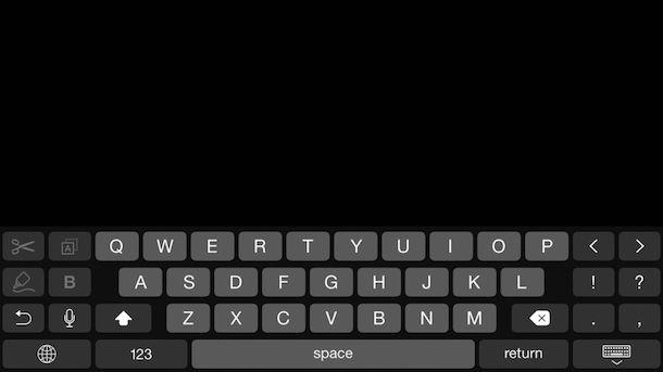 Screenshot che mostra come cambiare MAC address su iOS