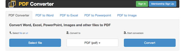 Screenshot di PDF Converter