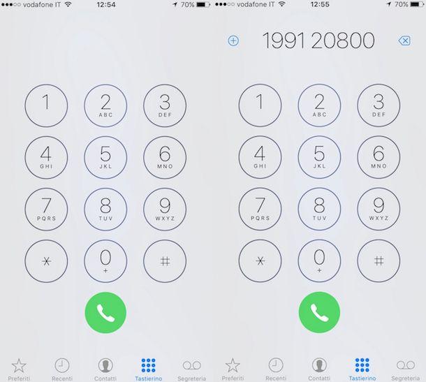 Screenshot iPhone
