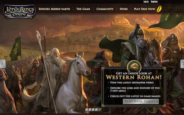 Screenshot del gioco de Il signore degli anelli