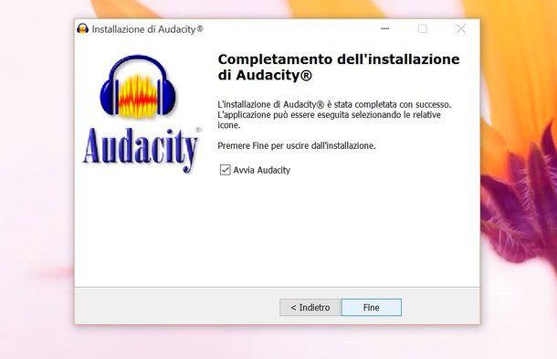 Come usare Audacity