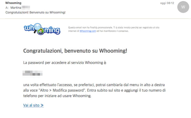 Screenshot di Whooming