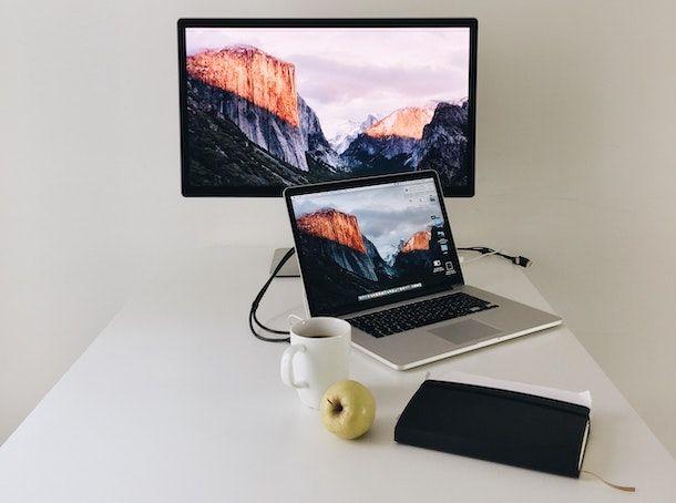 Mac monitor esterno
