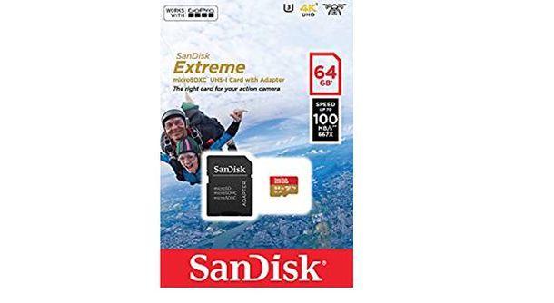 MicroSD per GoPro