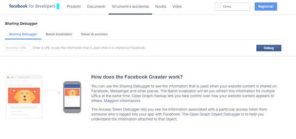 Screenshot che mostra come caricare GIF su Facebook