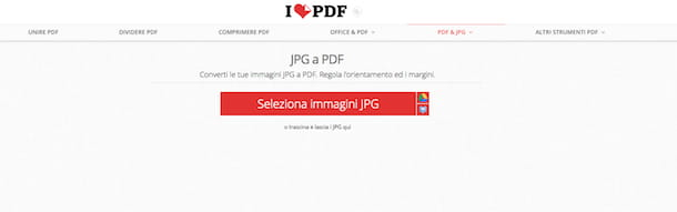 Screenshot di iLovePDF