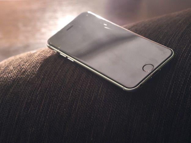 Foto di un iPhone