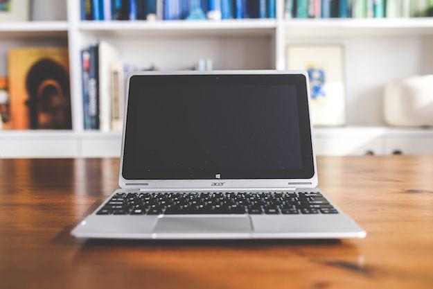 Foto di un notebook Acer