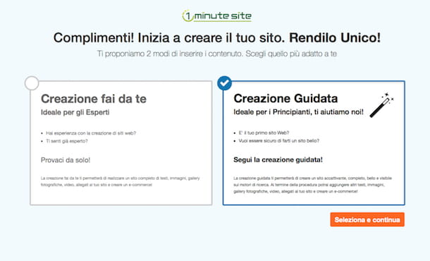 Screenshot di 1 Minute Site