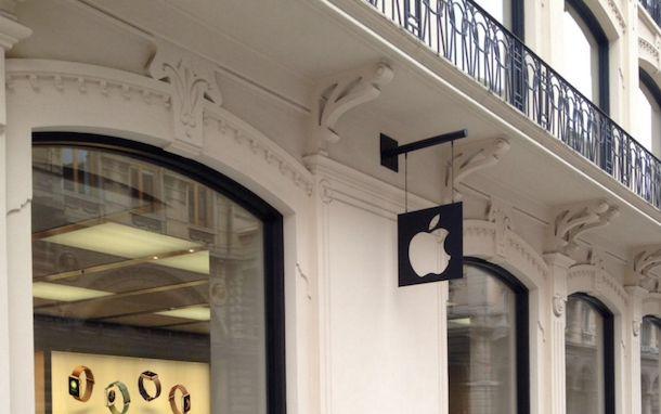 Foto dell'Apple Store di Bologna