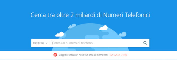 Screenshot di TrueCaller