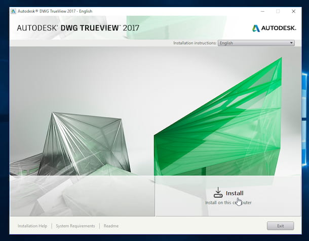Screenshot di Autodesk DWG TrueView