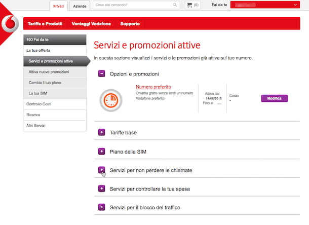 Screenshot Vodafone