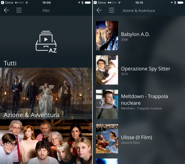Come guardare film gratis su iPhone