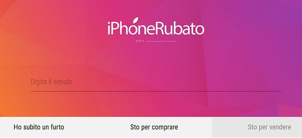 Come verificare se un iPhone è rubato