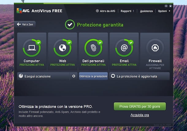 Miglior antivirus gratis