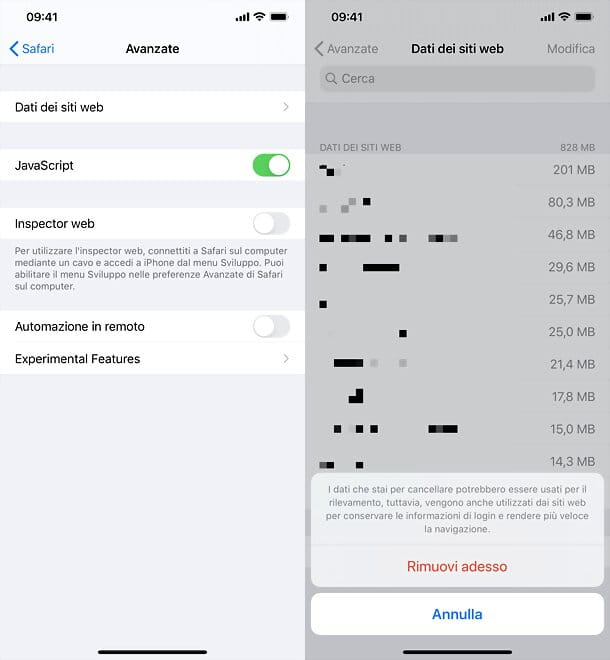 Come liberare spazio su iPhone: altro