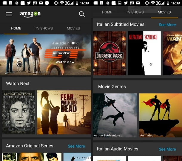 Come vedere film in streaming Android