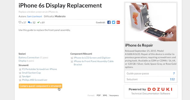 Come sostituire vetro iPhone