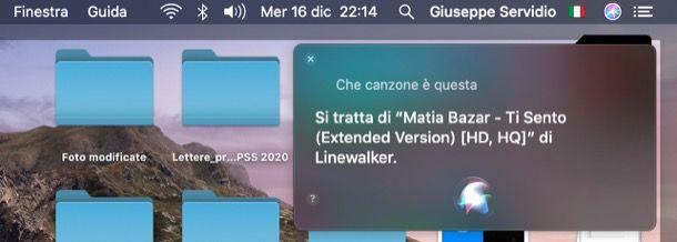 Siri macOS