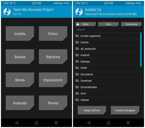 Come aggiornare Android: ROM personalizzata