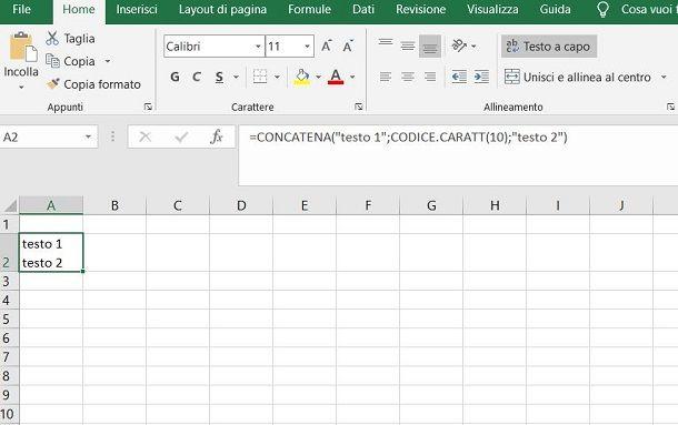 Codice.caratt Excel