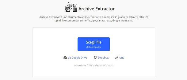 Archive Extractor Online
