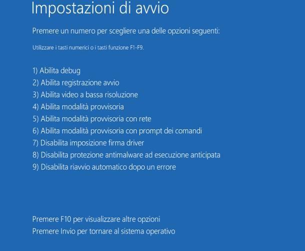 Come avviare il PC in modalità provvisoria: Windows 10