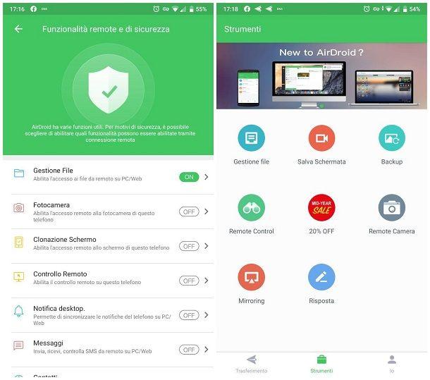 Come collegare Android al PC senza cavo