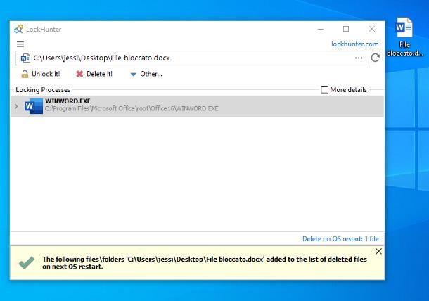 Come cancellare file incancellabili