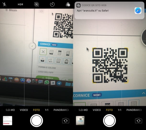 App Fotocamera iOS/iPadOS