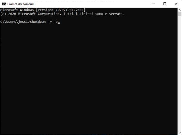 Come avviare il PC in modalità provvisoria con Prompt dei Comandi