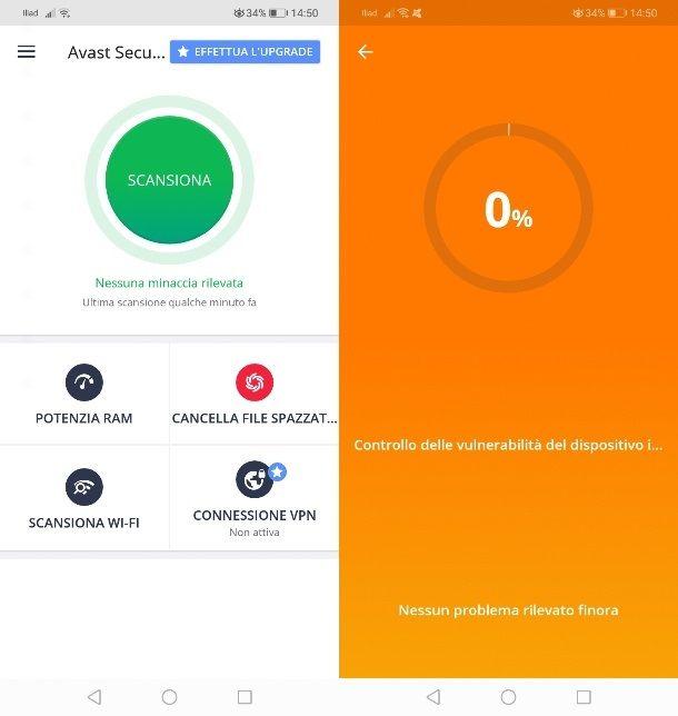 Come eliminare trojan su Android