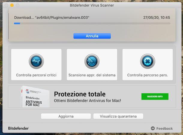 Bitdefender Virus Scanner