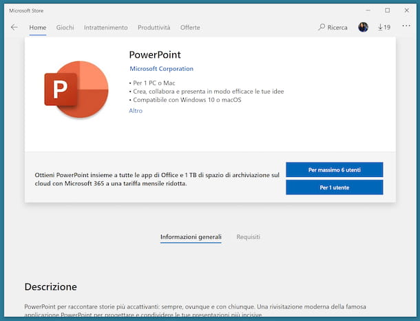 PowerPoint Microsoft Store