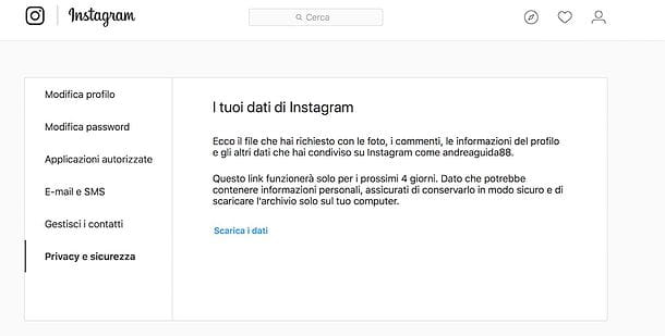Download di Instagram